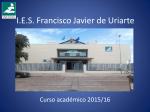 ¿ Qué hago el próximo curso ? - IES Francisco Javier de Uriarte