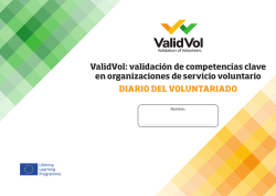 Diario del Voluntariado