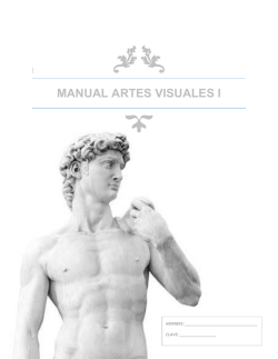 MANUAL ARTES VISUALES I