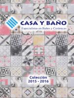 Catalogo Casa y Baño 2016