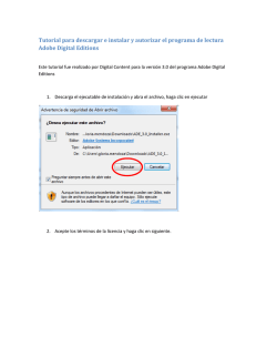 Tutorial para descargar e instalar y autorizar el - Ebooks 7-24