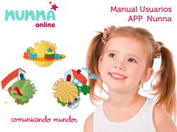 Manual Usuarios APP Nunna