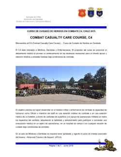 COMBAT CASUALTY CARE COURSE, C4