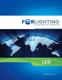 Forlighting CATALOGO LED 2014 (3)