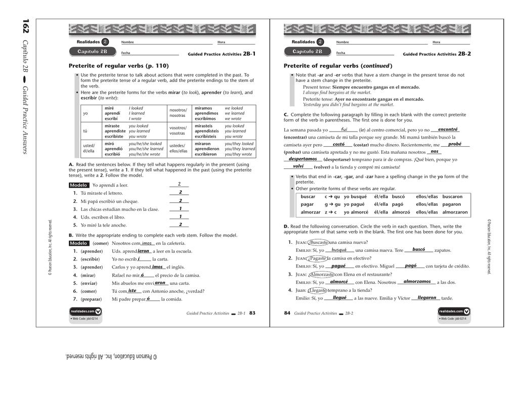 Direct object pronouns spanish worksheet pdf 1818189 - sweetposh.info