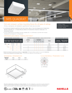 1415 QUADRAT - Havells USA