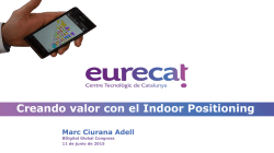 Creando valor con el Indoor Positioning
