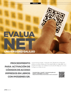 EvaluaNET - Universidad Galileo