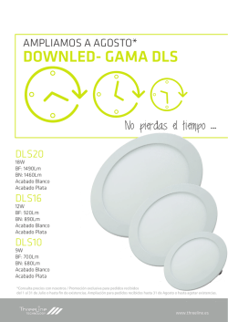 DOWNLED- GAMA DLS