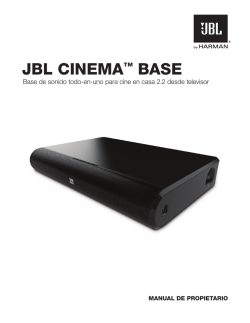JBL CINEMA™ BASE