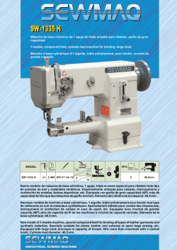 INDUSTRIAL SEWING MACHINE MODEL Nuevo