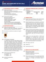 AKRON® ANTICONGELANTE OAT 50% (Rosa)