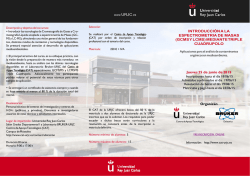 CURSO JUNIO 2015 - Cat | Universidad Rey Juan Carlos