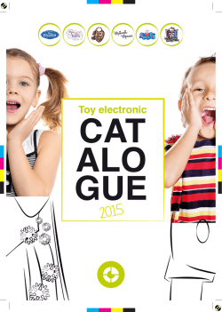 Catálogo Ingo Devices Electronic For Kids 2015