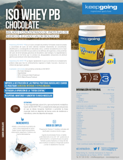 ISO WHEY PROTEIN PB Chocolate