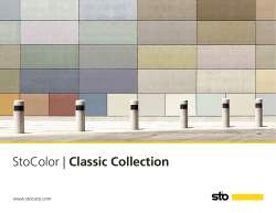 StoColor | Classic Collection