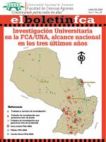 elboletínfca-39 - Facultad de Ciencias Agrarias