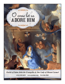 december 15, 2015 - Our Lady of Mount Carmel