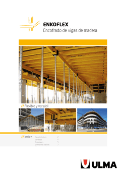 Catalogo ENKOFLEX - ULMA Construction