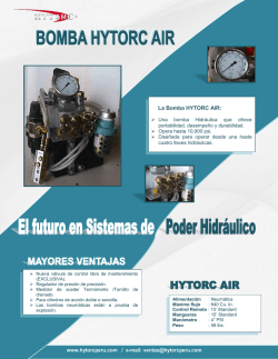 La Bomba HYTORC AIR: