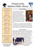 Friends of BPL Newsletter 2015