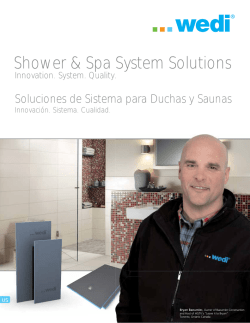Shower & Spa System Solutions