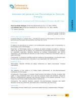Abordaje del paciente con fibromialgia en Atención Primaria