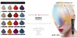 brochure bleach color creamLOW