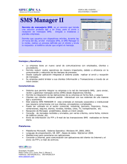 SMS Manager II