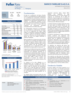 Informe Banco Familiar - 2015 03