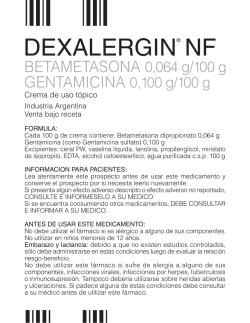 DEXALERGIN NF Crema IP.indd