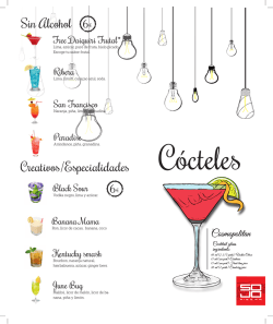Creativos/Especialidades Sin Alcohol