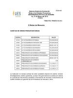 2) Notas de Memoria. - Universidad Estatal de Sonora