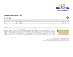 Falso suelo registrable Kingspan K38C (KB60WC8GFB10), en