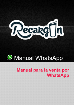 Manual WhatsApp