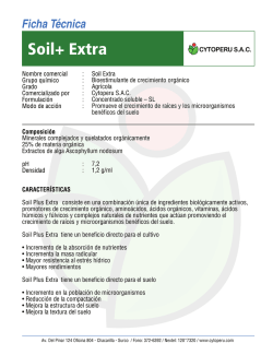 FT SOIL EXTRA - CYTO PERU SAC