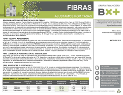 FIBRAS - Blog Grupo Financiero BX+