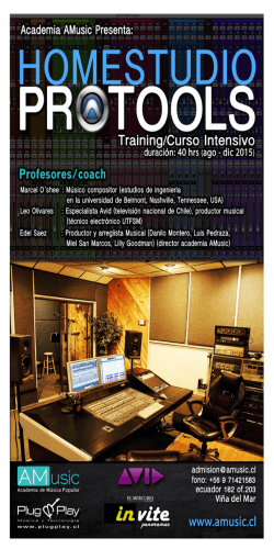 HomeStudio ProTools
