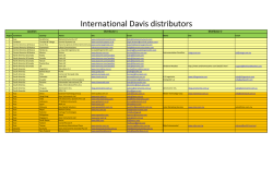 International Davis distributors