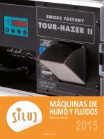 Maquinas de humo y fluidos Siluj