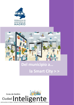 Del municipio a… la Smart City > >