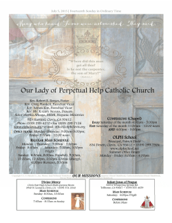 the PDF file - Our Lady of Perpetual Help