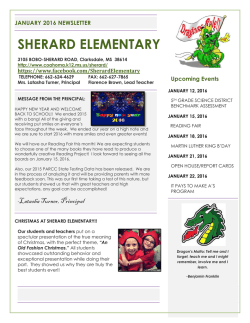 SHERARD ELEMENTARY - Coahoma County School District