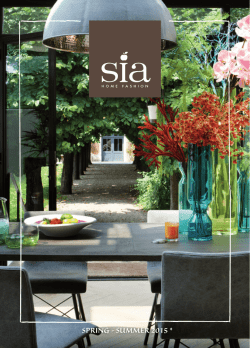 Sia home fashion Primavera - verano 2015 Ver