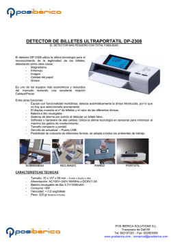 DETECTOR DE BILLETES ULTRAPORTATIL DP-2308