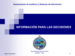 Inform para las Decisiones Dinámica