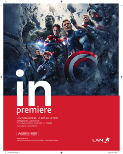 the avenGers: aGe of uLtron avengers, assemble!