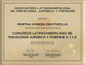 MARTHA VANESA DIAZ PADILLA - psicologia juridica y forense