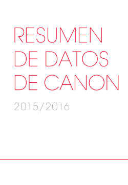 Canon Fact Book 2015/2016