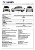 Ficha técnica Hyundai Grand i10 Sedán